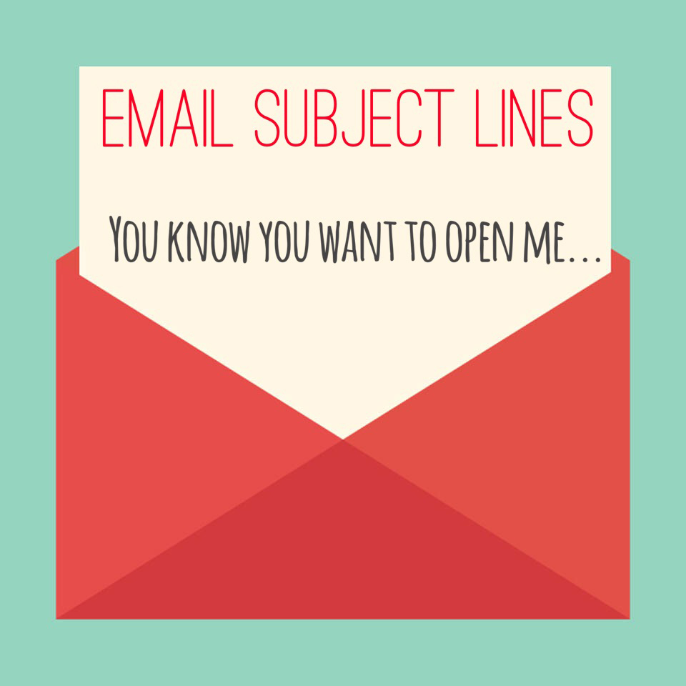 Email subject lines dating